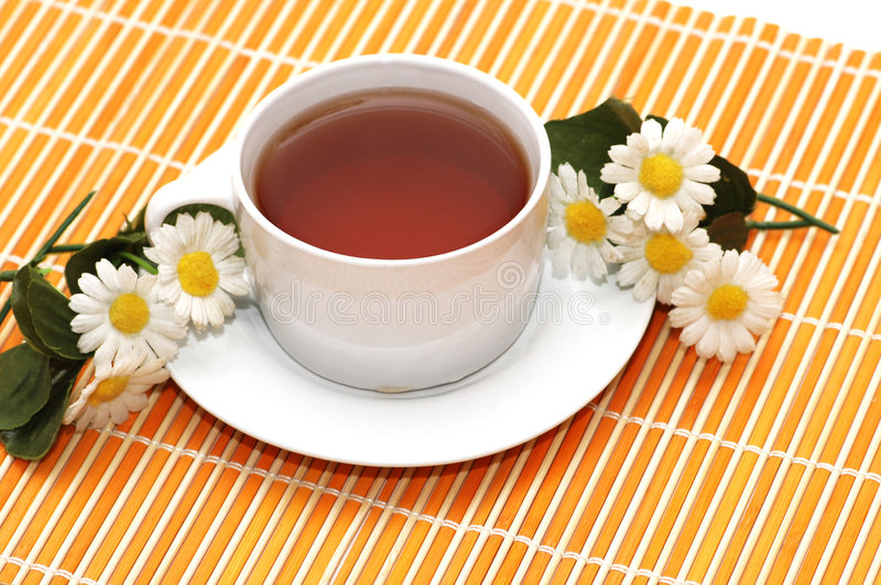 Download Cup of black tea stock photo. Image of health, camomile - 6781196