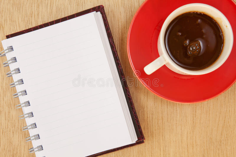 Cup And Book Royalty Free Stock Images