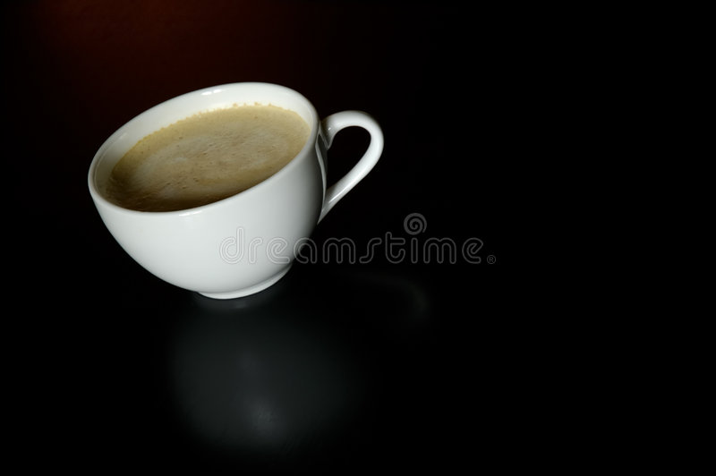 Download Cup of cafe latte stock photo. Image of macchiato, spoon - 191834