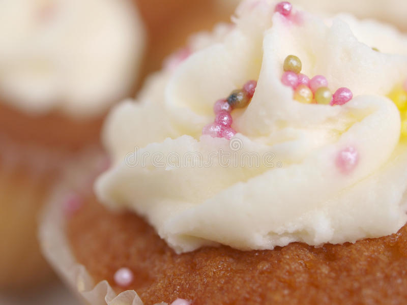 Download Cup Cake stock photo. Image of cream, pink, icing, treat - 21260218