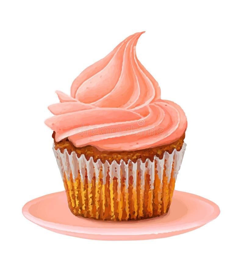 Cup cake royalty free stock photos
