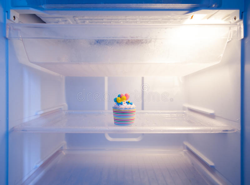 Cup cake. royalty free stock image