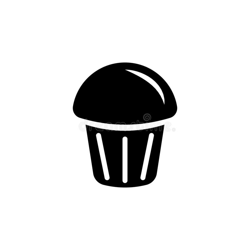 cup cake icon vector illustration