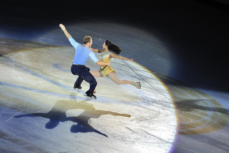 Cup Of China ISU Grand Prix Of Figure Skating 2011 Editorial Photo
