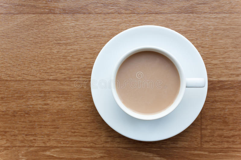 Cup of chocolate isolated on white background royalty free stock photo