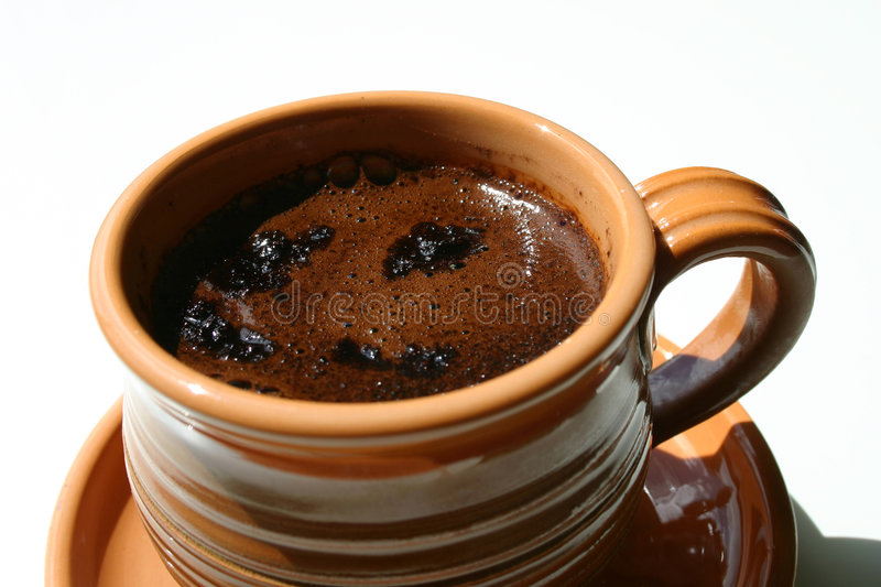 Download A cup of coffee stock image. Image of brown, breakfast, handle - 7787