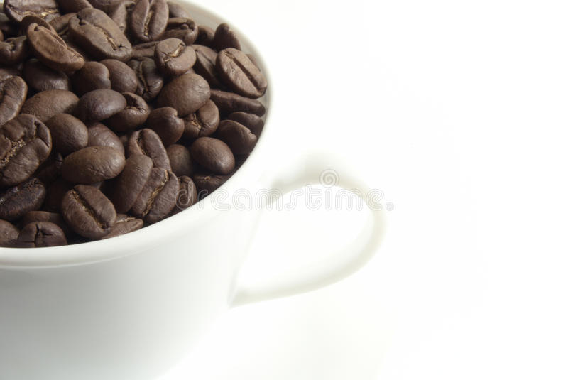 Download Cup of coffee stock image. Image of group, bean, macro - 10895535
