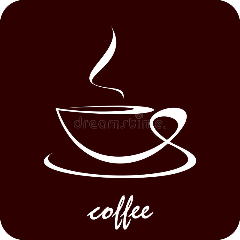 Download Cup of coffee stock photo. Image of line, tasteful, roasted - 11179726