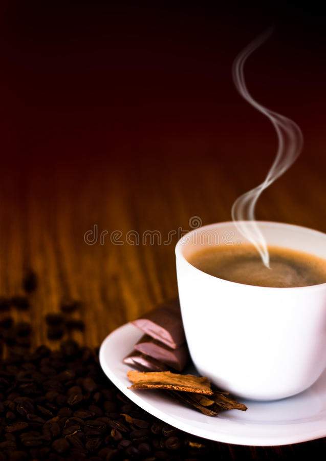 Download Cup of coffee stock image. Image of espresso, decoration - 13090775