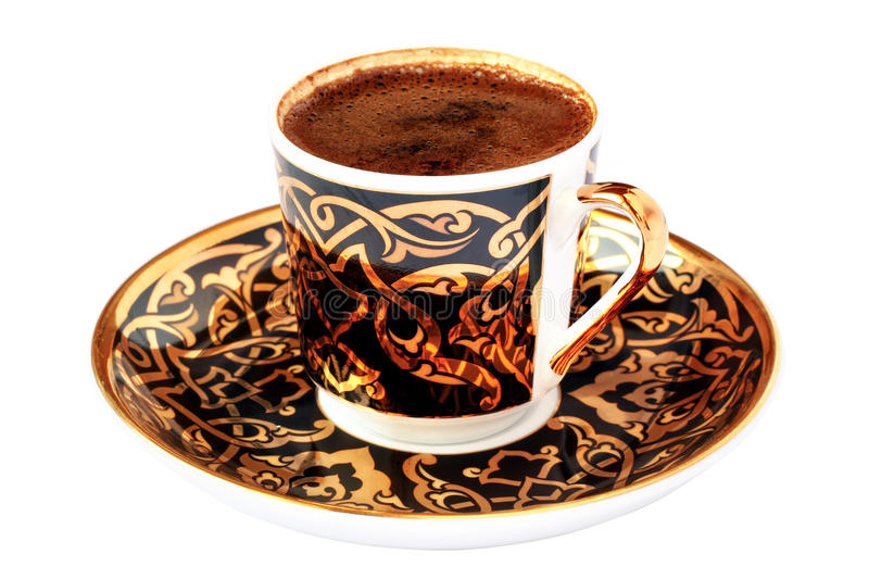 Download Cup of coffee stock image. Image of authentic, decorative - 13658203