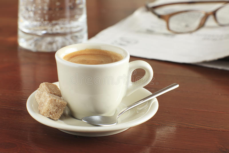 Download Cup of coffee stock image. Image of brown, food, caffeine - 18599871