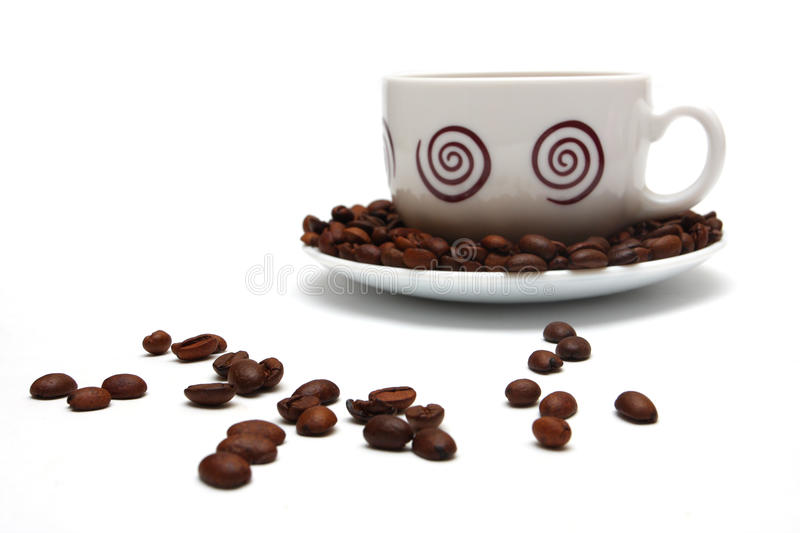 Download Cup of coffee stock image. Image of abstract, bean, heap - 22305805