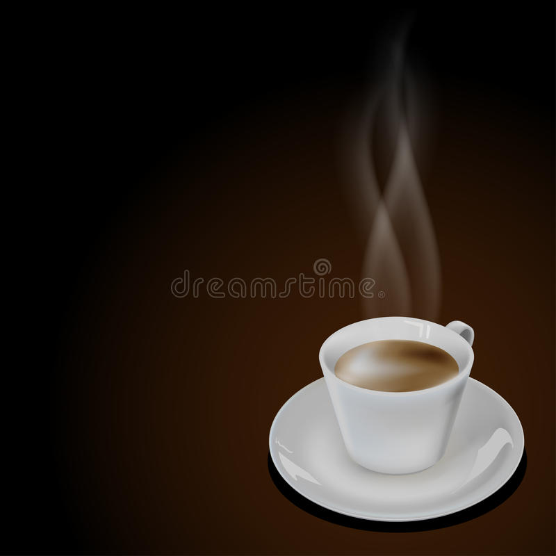 Cup coffee vector illustration