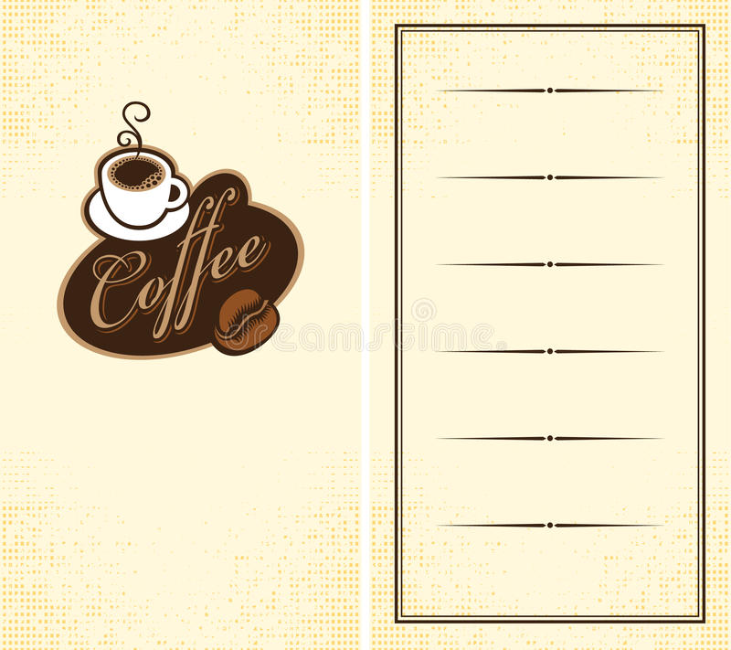 Download Cup of coffee stock vector. Image of coffee, cocoa, inscription - 25601570