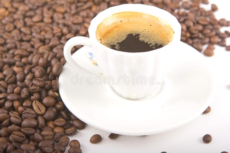 Download A cup of coffee stock image. Image of recreation, flavor - 25902125