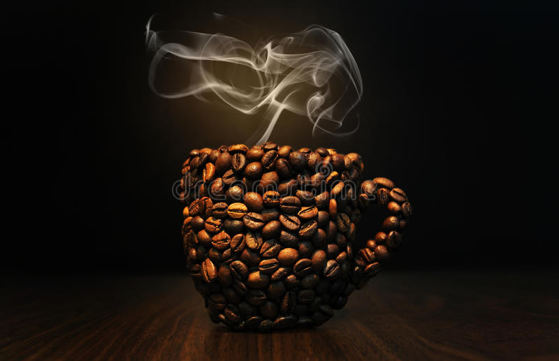 Cup of coffee stock photos