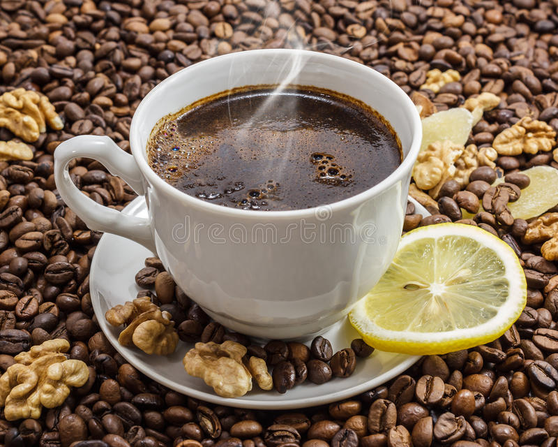 Download Cup of coffee stock photo. Image of caffeine, life, close - 26445472