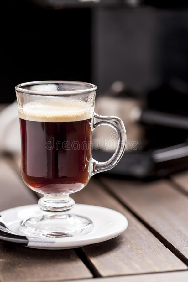 Download Cup of Coffee stock photo. Image of spoon, china, heat - 27410778