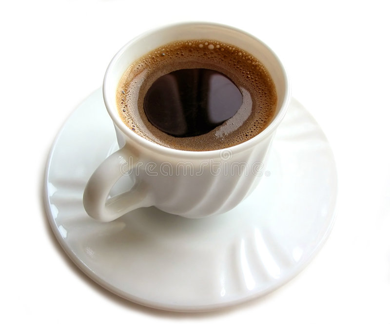 Download Cup of coffee 3 stock image. Image of saucer, espresso - 470235