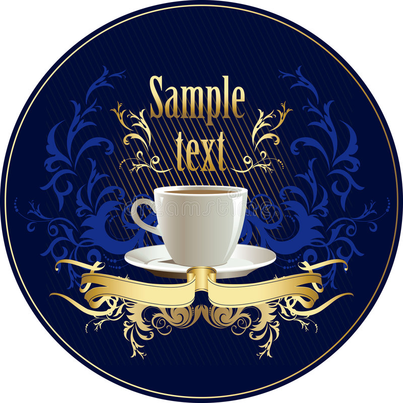 Download Cup of coffee stock vector. Image of brewed, illustration - 4971400