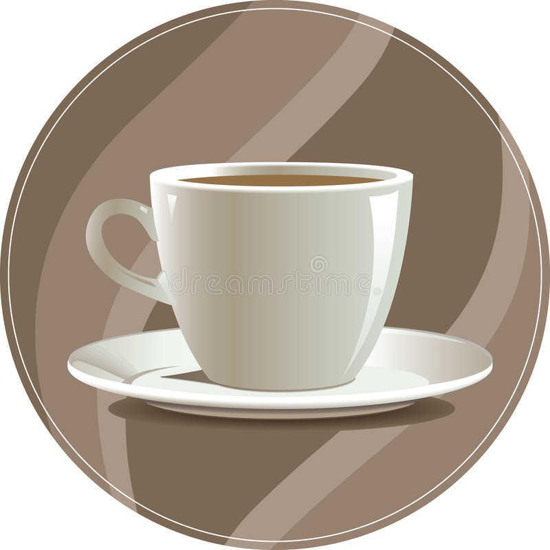 Download Cup of coffee stock vector. Image of decoration, latte - 5170936