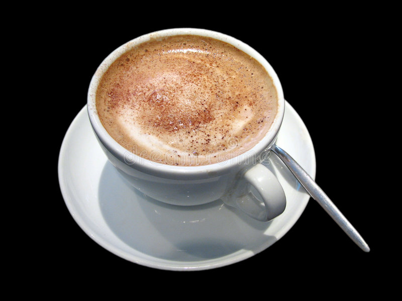 Download Cup of coffee stock photo. Image of warm, foam, coffee - 760116