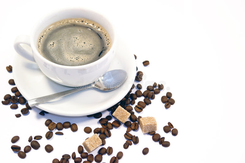Download Cup of coffee stock photo. Image of ordinary, coffein - 9009474