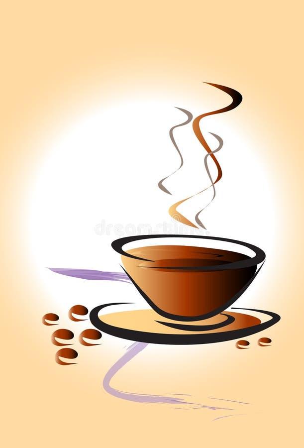 Cup coffee art