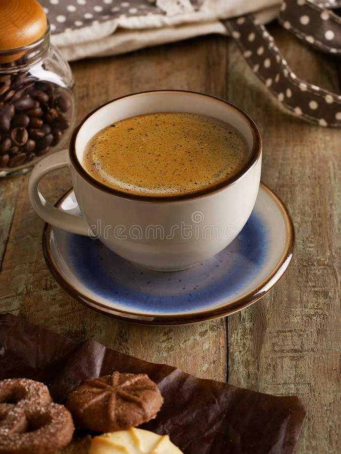 A nice cup of coffee stock images