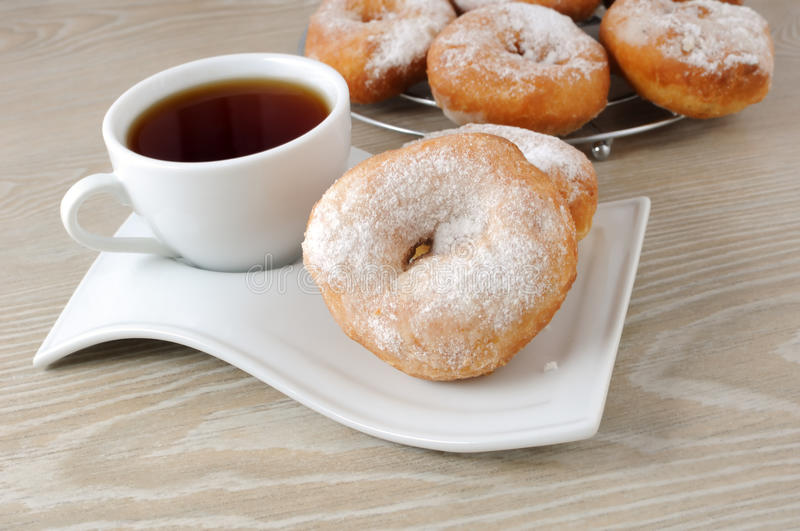 Download A cup of coffee and donuts stock image. Image of lifestyle - 23866691