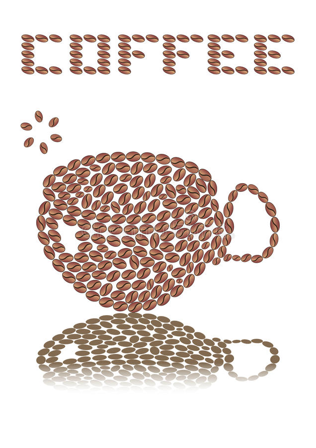 Download Coffee mug stock vector. Image of drink, bobs, object - 30137856
