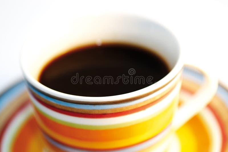 Cup of coffee II stock image