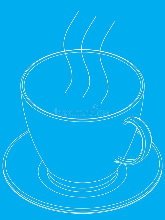 Cup Of Coffee Illustration Stock Illustration