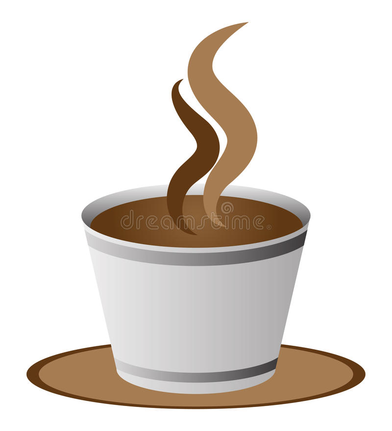 Download Cup of coffee stock vector. Illustration of abstract - 33815136