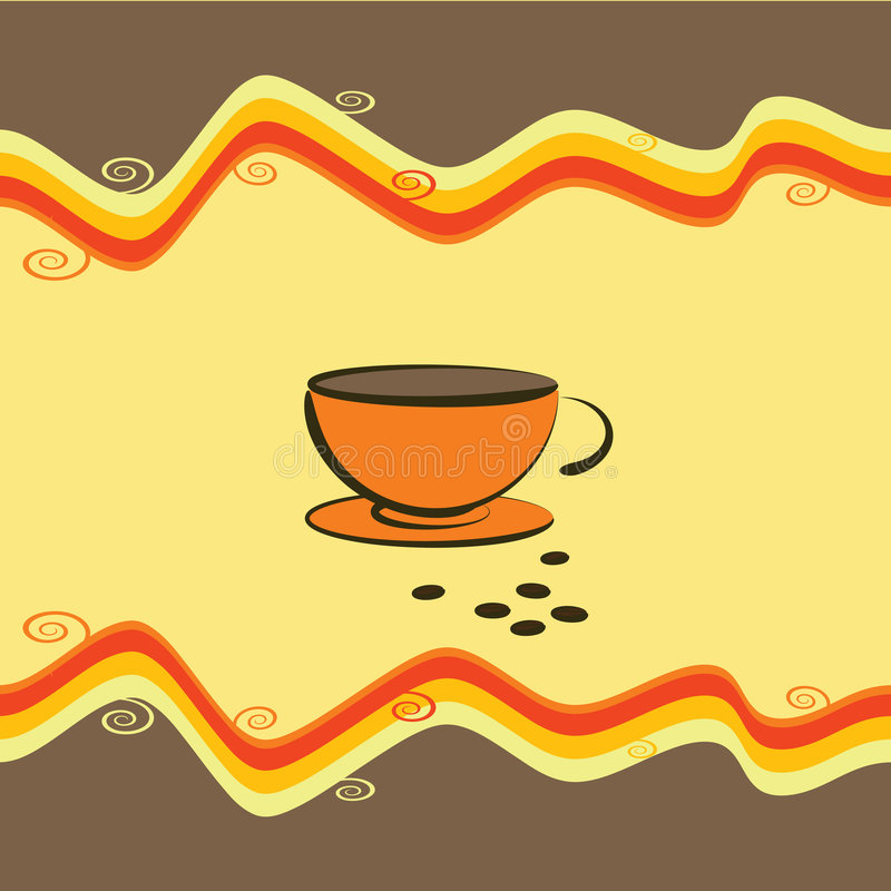 Download Cup Of Coffee - Vector Illustration Stock Images - Image: 7341174