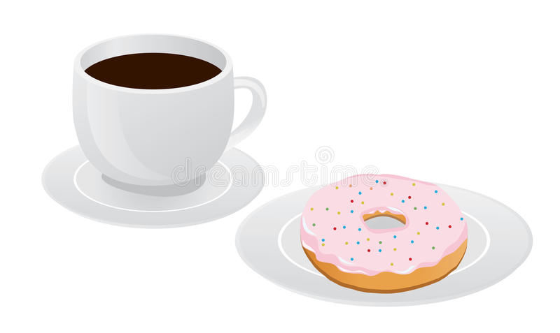 Cup of Coffee vector illustration