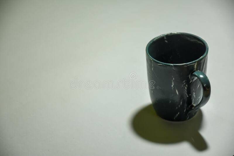 cup of coffee in white background isolated blank space for
