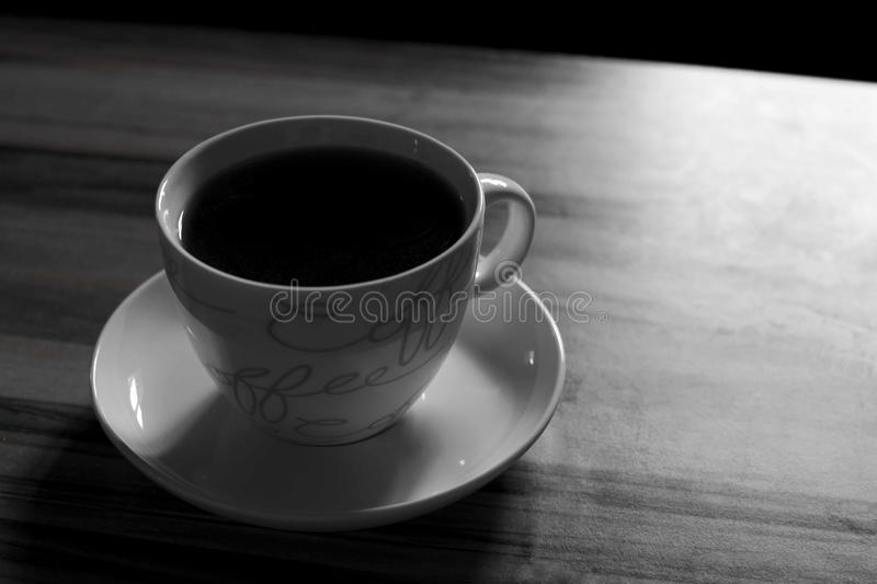 A cup of coffee royalty free stock images
