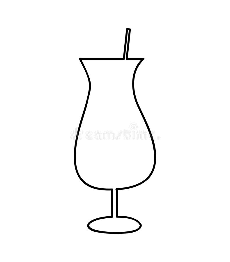 Cup drink alcohol icon. Illustration design vector illustration
