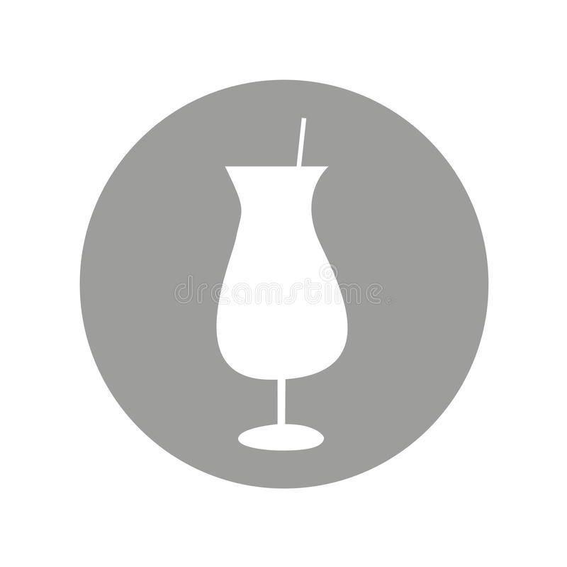 Cup drink alcohol icon. Illustration design royalty free illustration