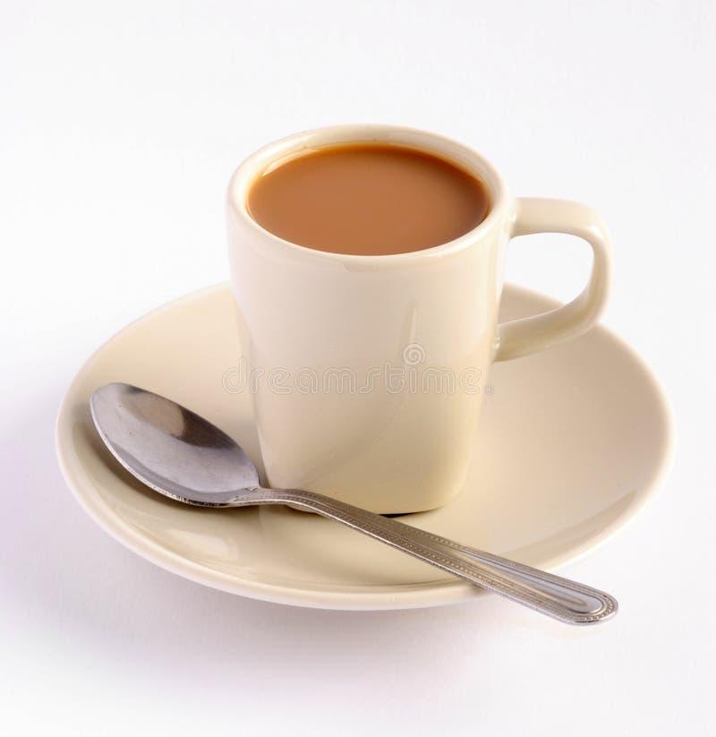 Download A cup of espresso stock photo. Image of break, milk, warm - 12258600