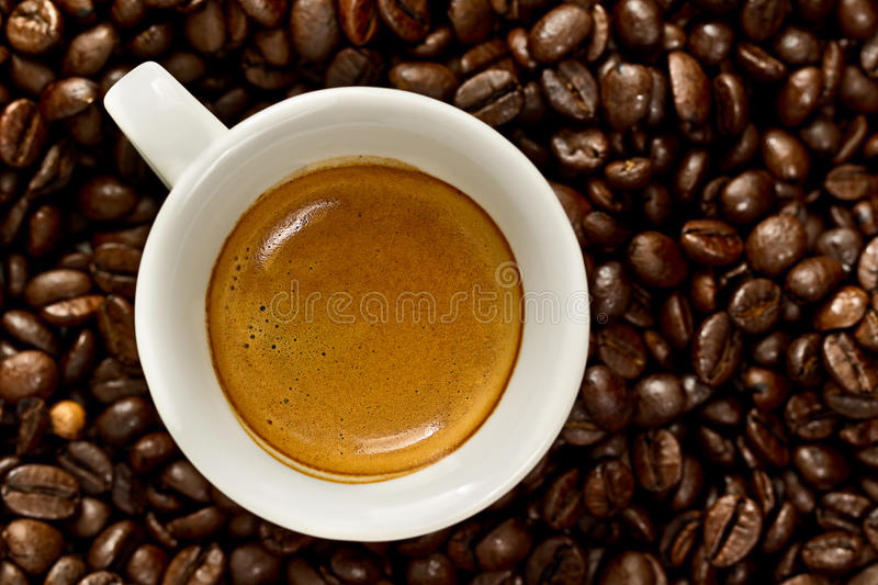 Download Cup of espresso stock photo. Image of morning, breakfast - 25019358