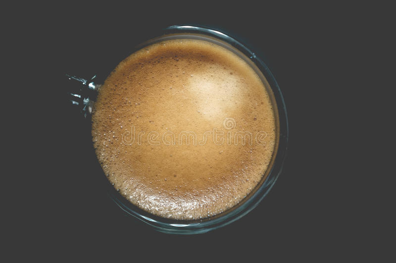 A cup of espresso royalty free stock image