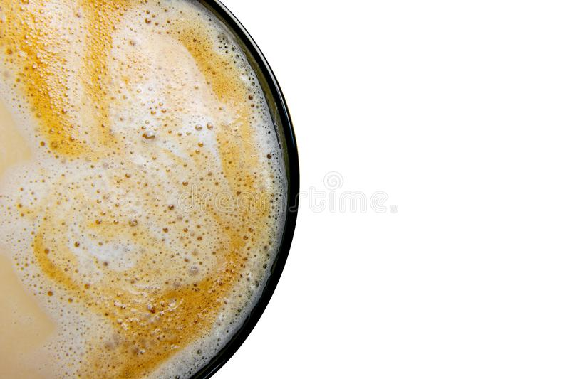 Cup of espresso coffee on white background.  stock photo