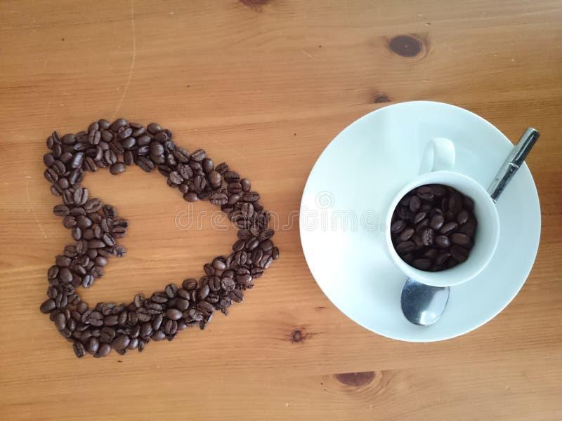Cup Espressokaffee stockfoto