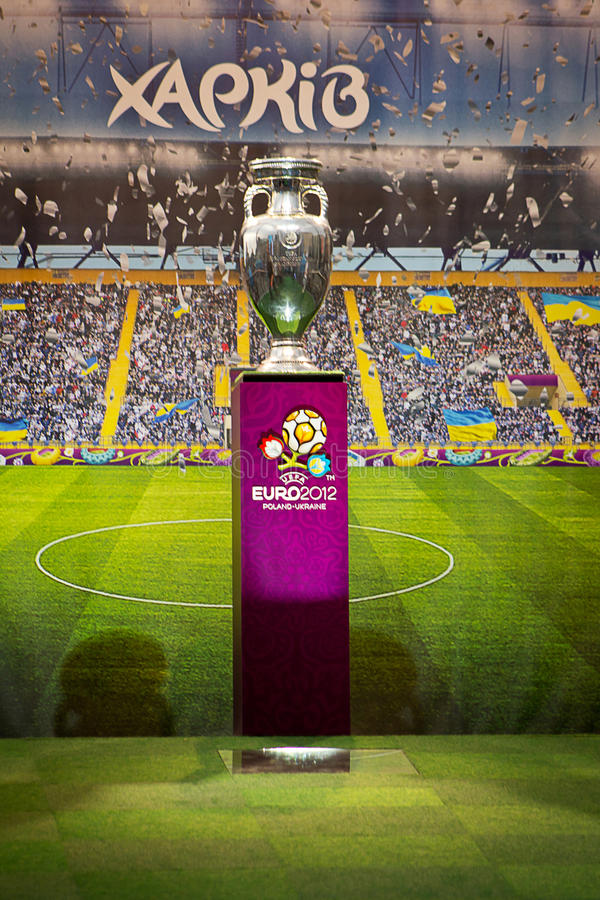 Download Cup European Football Championship 2012 Editorial Photo - Image: 24840966
