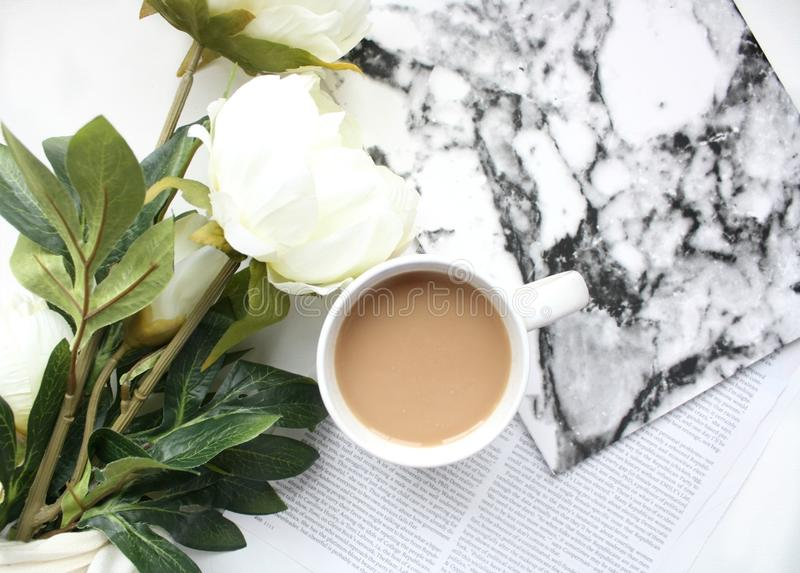 Cup, Flower, Coffee Cup royalty free stock photography
