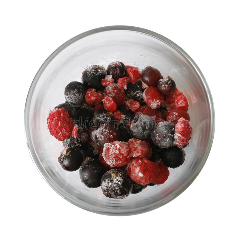 Download Cup Of Frozen Berries Royalty Free Stock Photography - Image: 17327967