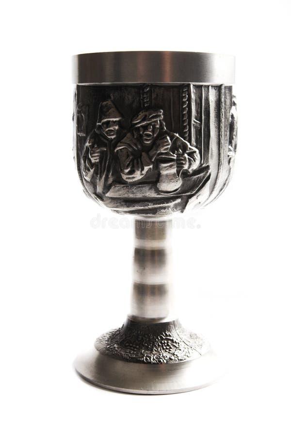 cup gammal silverwine arkivbilder