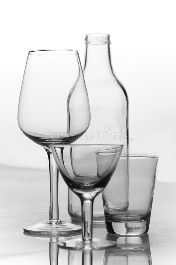 Cup Glass stock photography